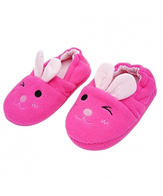Bunny Bootie Slippers Winter Non Slip