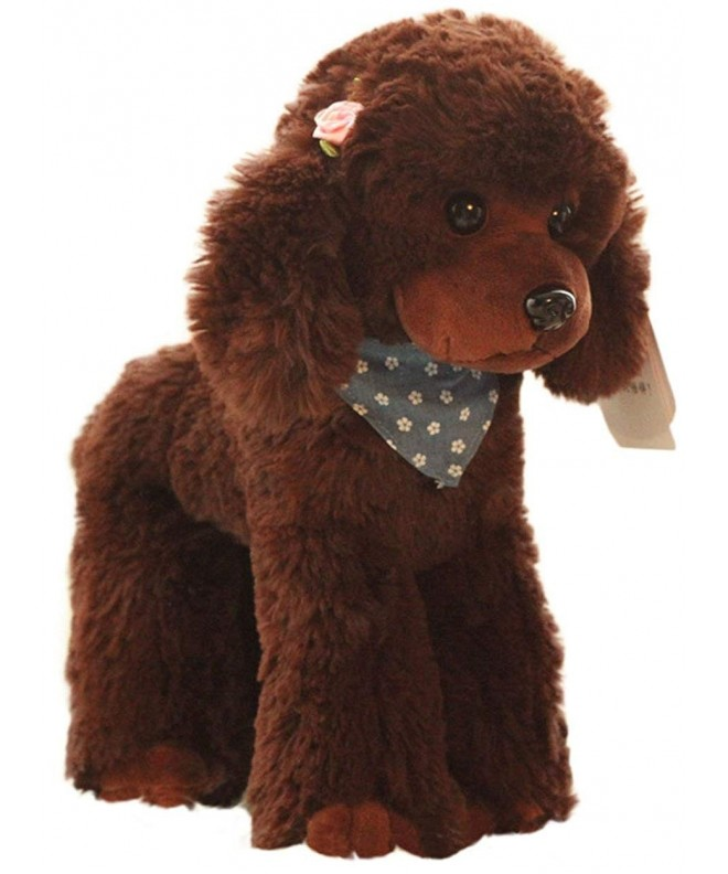 Cosnew Squeezable Stuffed Poodle Christmas