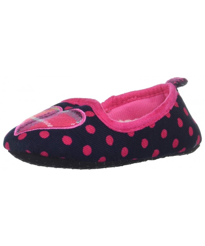 Dearfoams Polka Loafer Plaid Slipper