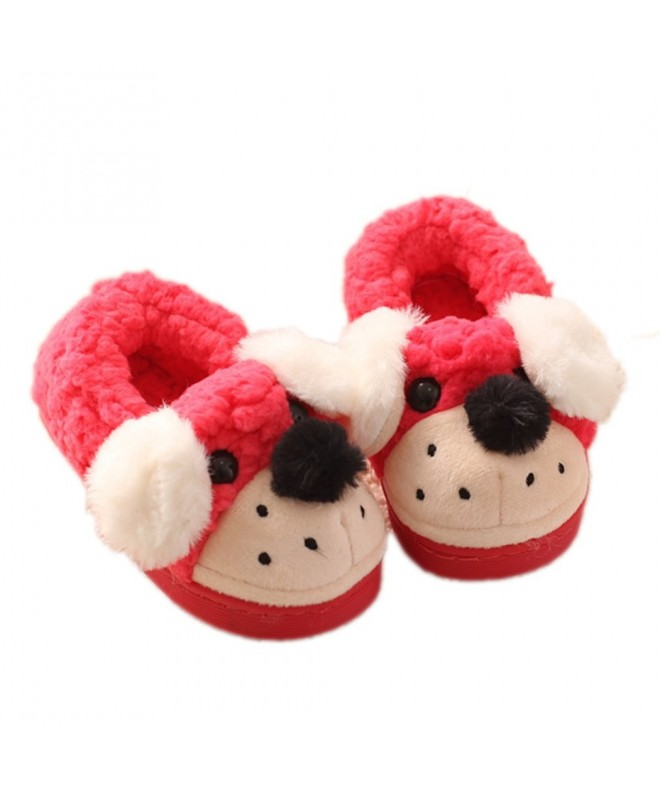 Unisex Doggy Toddler Slippers Girls