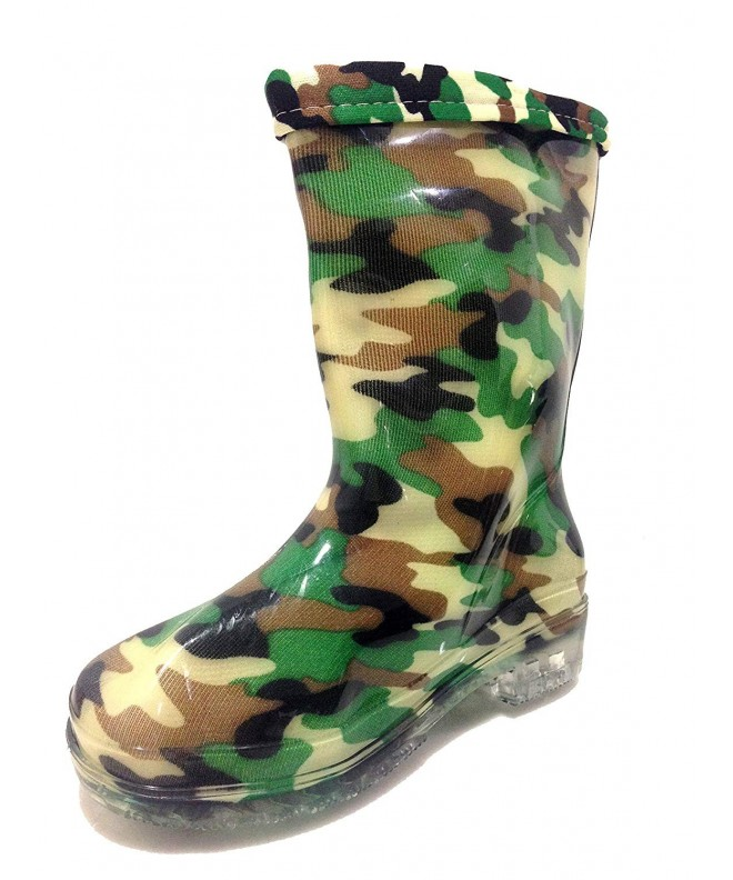 Unisex Toddlers Camouflage Military Lining