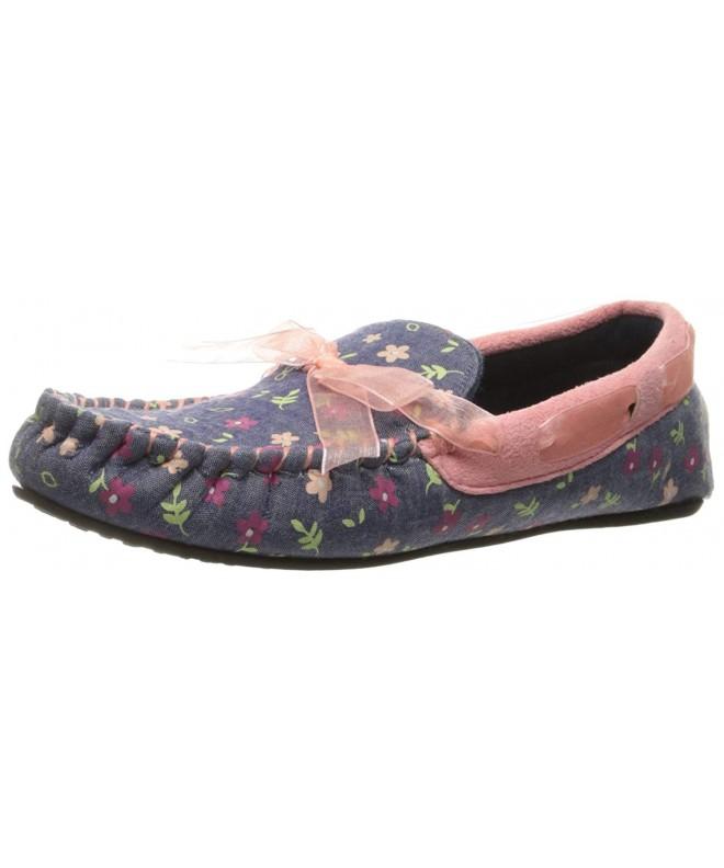 Trimfit Floral Mocassin Shoe Moccasin