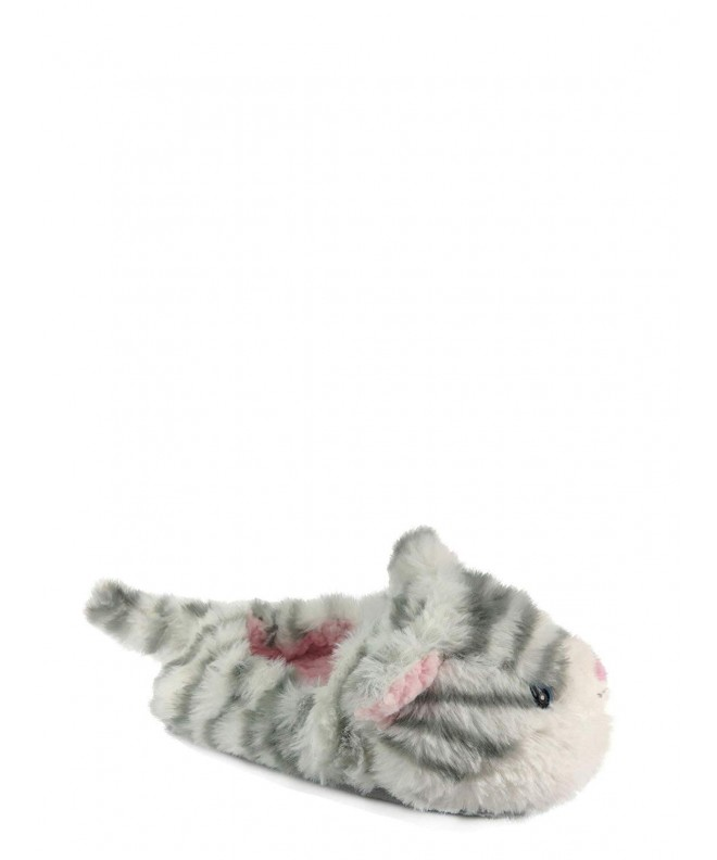 Kitty Slippers Girls Plush Slipper