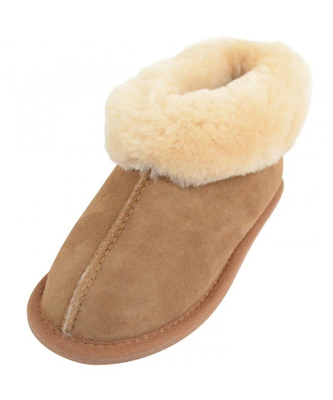 SNUGRUGS Childrens Sheepskin Slippers Booties