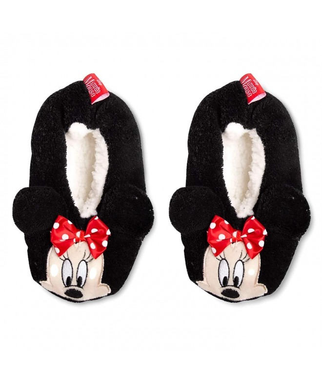 Minnie Mouse Fuzzy Slipper Socks