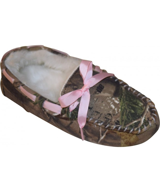 Realtree Girls Camouflage Moccasin Slippers