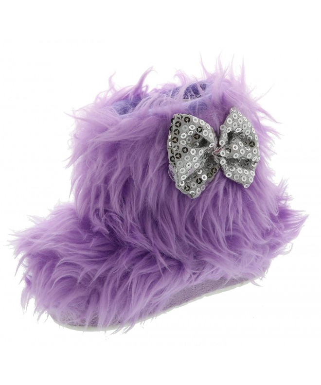 Chatties Toddler Girls Furry Slipper