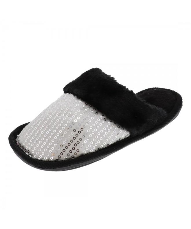 SandT Collection Kid Sequin Slipper