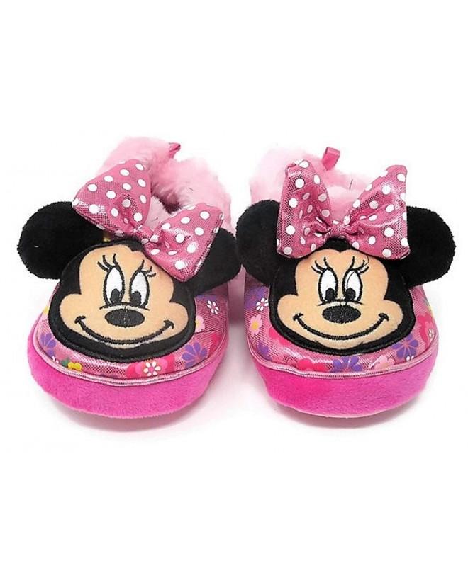 Toddler Girls Minnie Slippers Bundle