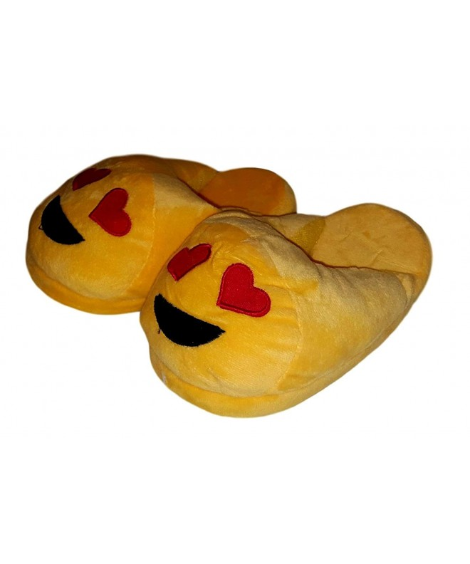Children Girls Emoji Plush Slipper