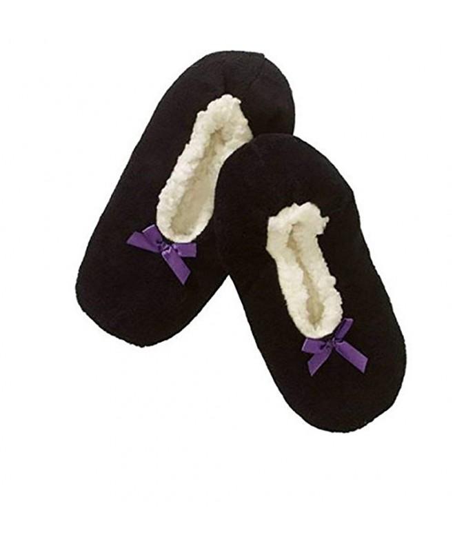 Girls Fuzzy Babba Slipper Socks