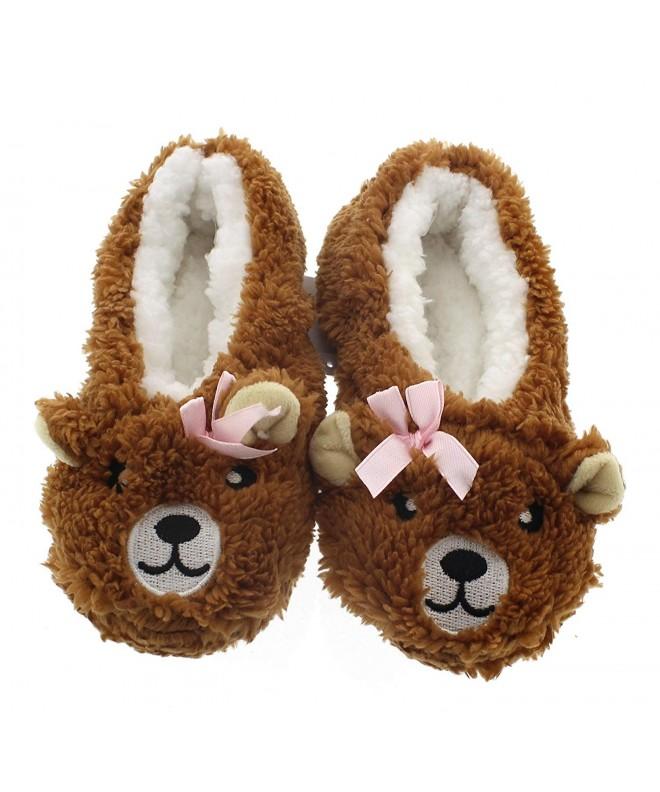Novelty Slippers Girls Animal Slipper