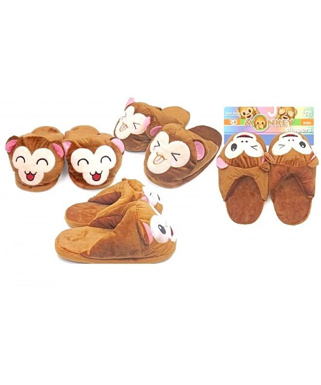 Childrens Comfortable Memory Slippers Non Slip