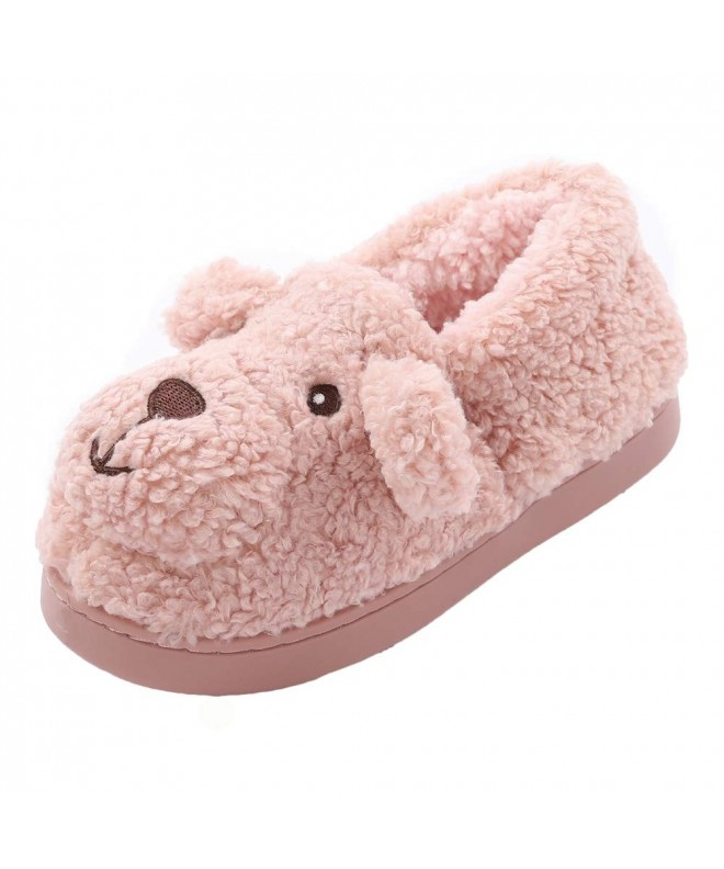 Indoor Slippers Fleece Bedroom Winter