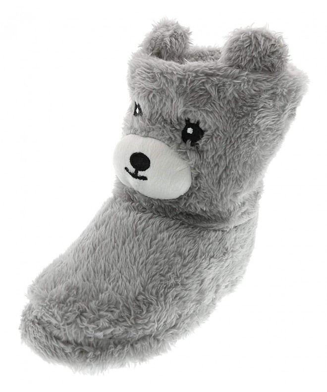 Chatties Toddler Animal Slipper Booties
