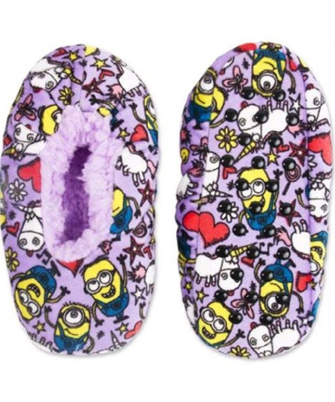 Despicable Minions Silky Suede Slippers