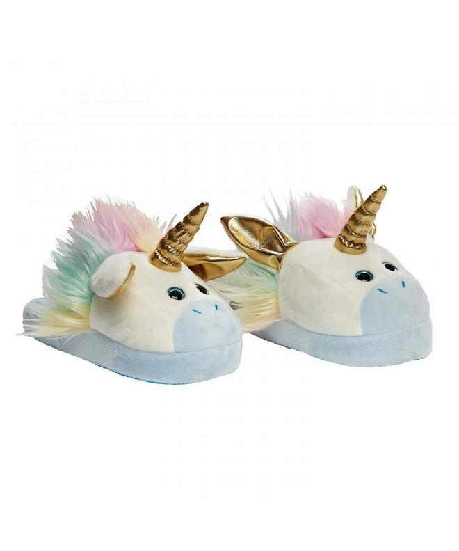 Stompeez Animated Unicorn Plush Slippers