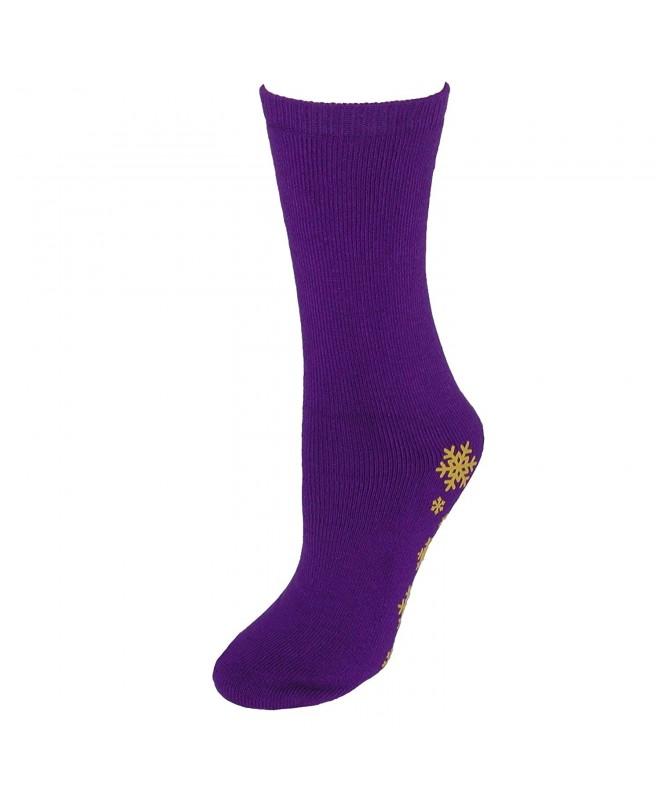Girls Slipper Socks Gripper Soles