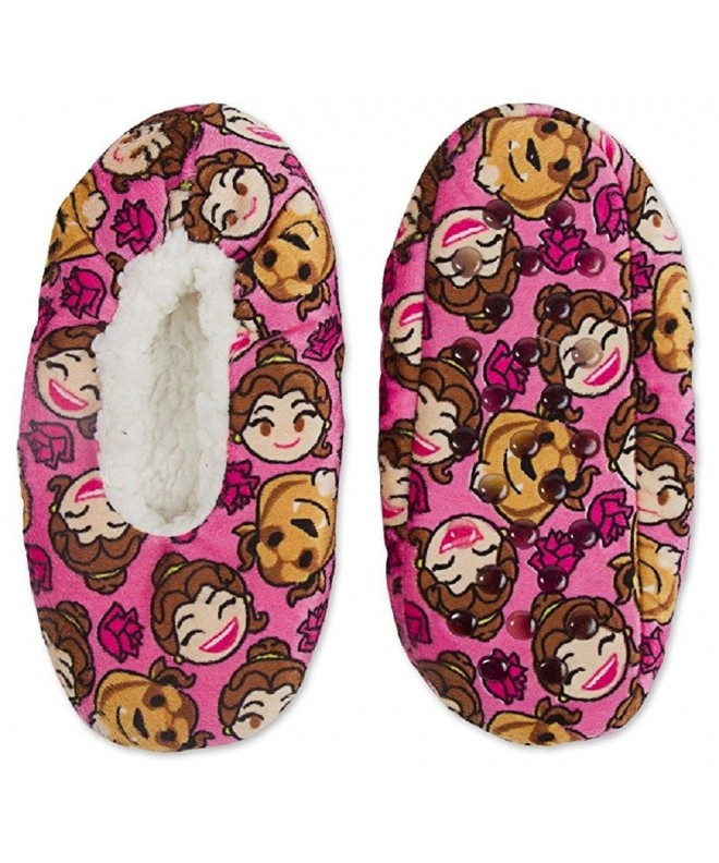 Beauty Beast Emoji Silky Slippers