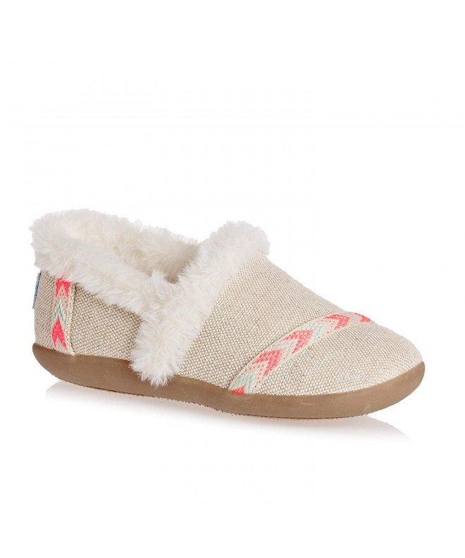 TOMS Slipper Little Natural Metallic