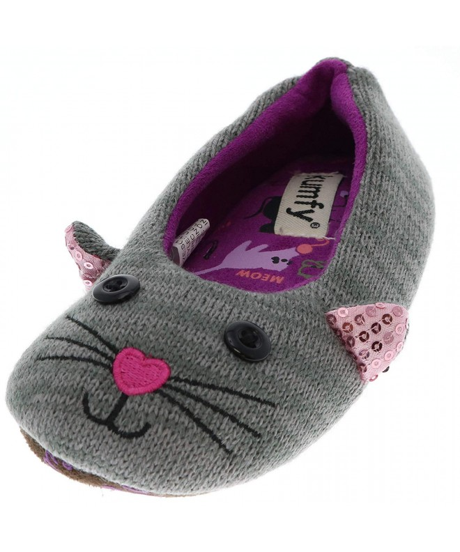 KUMFY Girls Animal Ballerina Slippers
