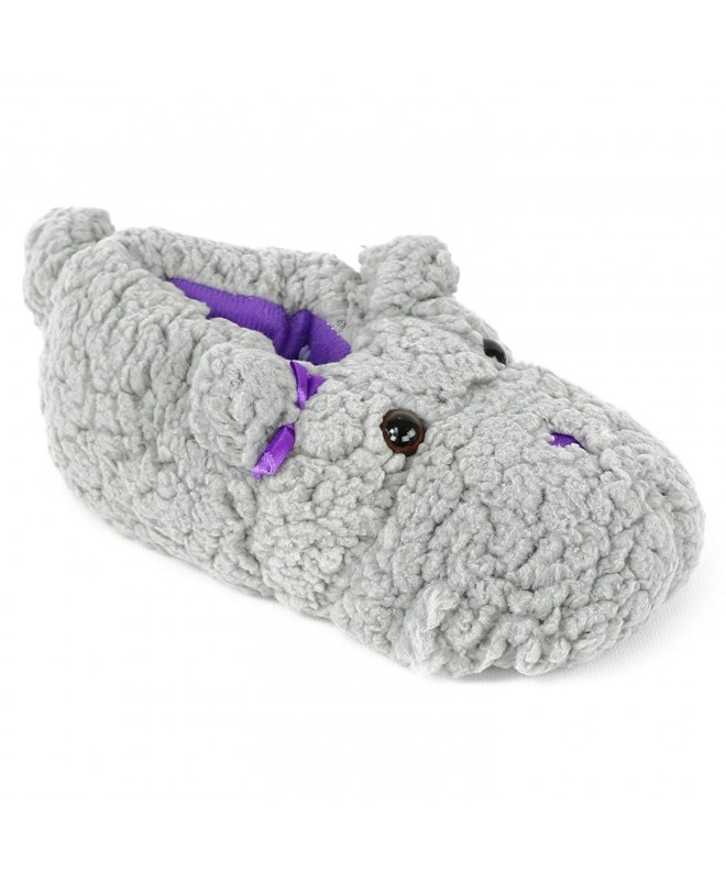Chatties Animal Sherpa Slippers Little