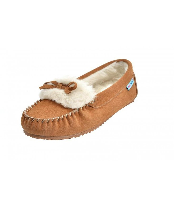 MOC PAPA Leather Moccasin Slipper