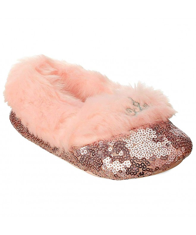 Princess Sequin Slippers Disney Girls