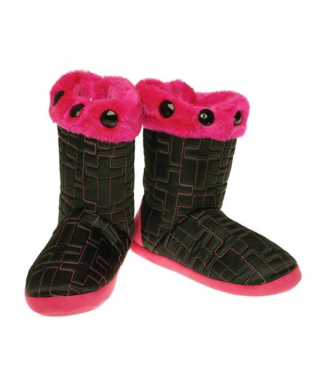 Blazin Girls Quilted Cross Slippers