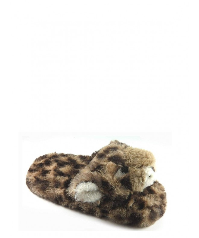 Leopard Scuff Slipper Tiger Slippers