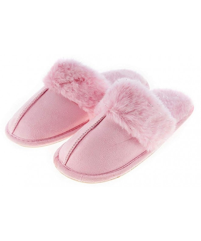 Festooning Winter Slippers Anti Slip Toddler