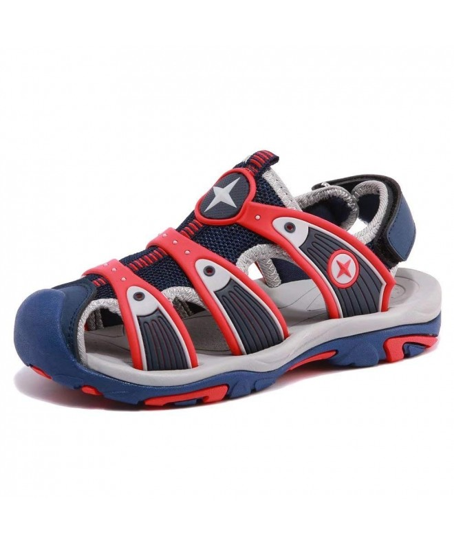 HOBIBEAR Sandals Closed Toe Outdoor Toddler