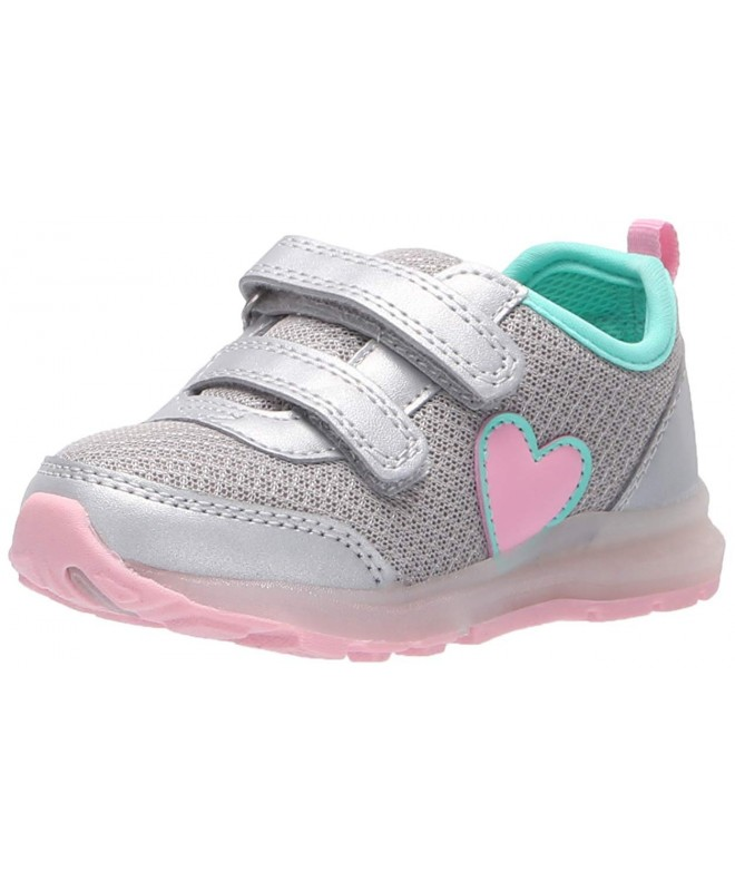 Carters Davita Silver Light up Sneaker