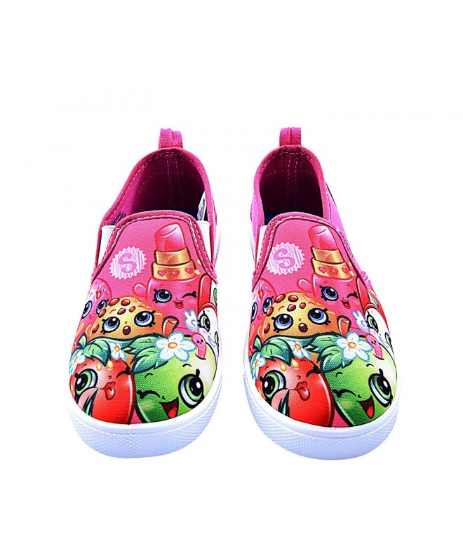 Shopkins Girls Slip on Canvas Shoes