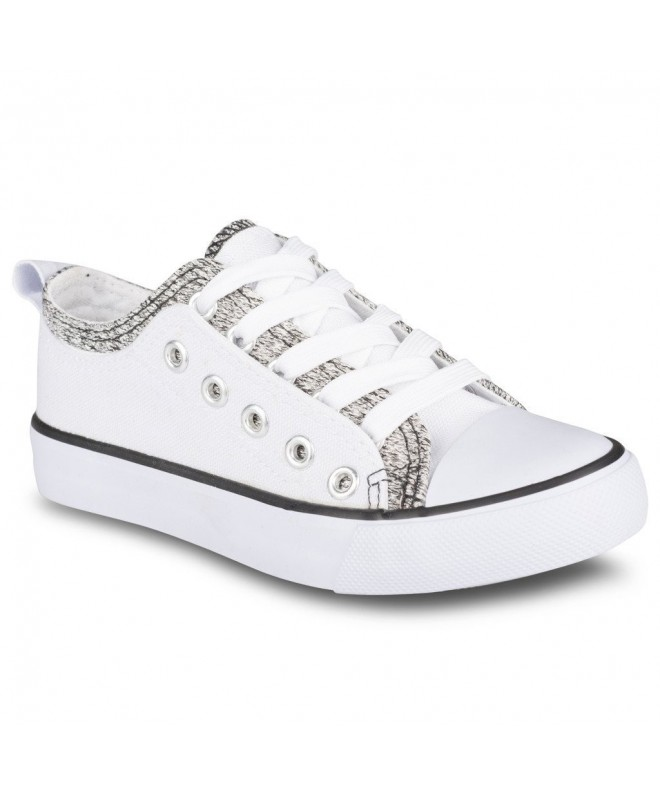 Twisted Canvas Double Lo Top Sneaker