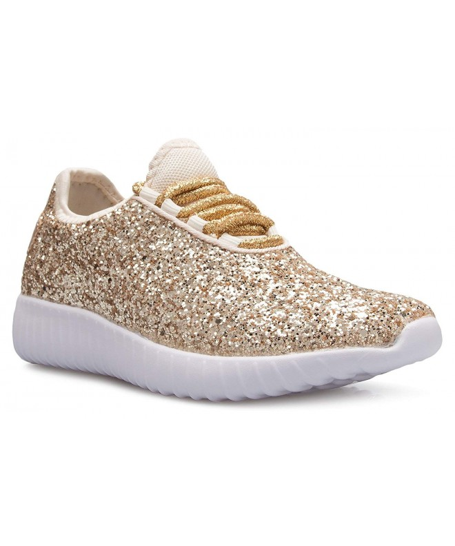 OLIVIA Fashion Sparkly Glitter Sneakers