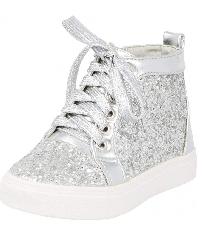 Cambridge Select Glitter Lace Up Fashion