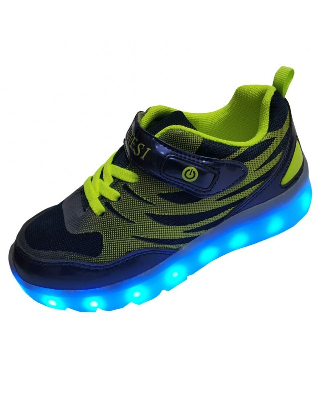 DAYATA Childrens Fashion Luminous Sneakers