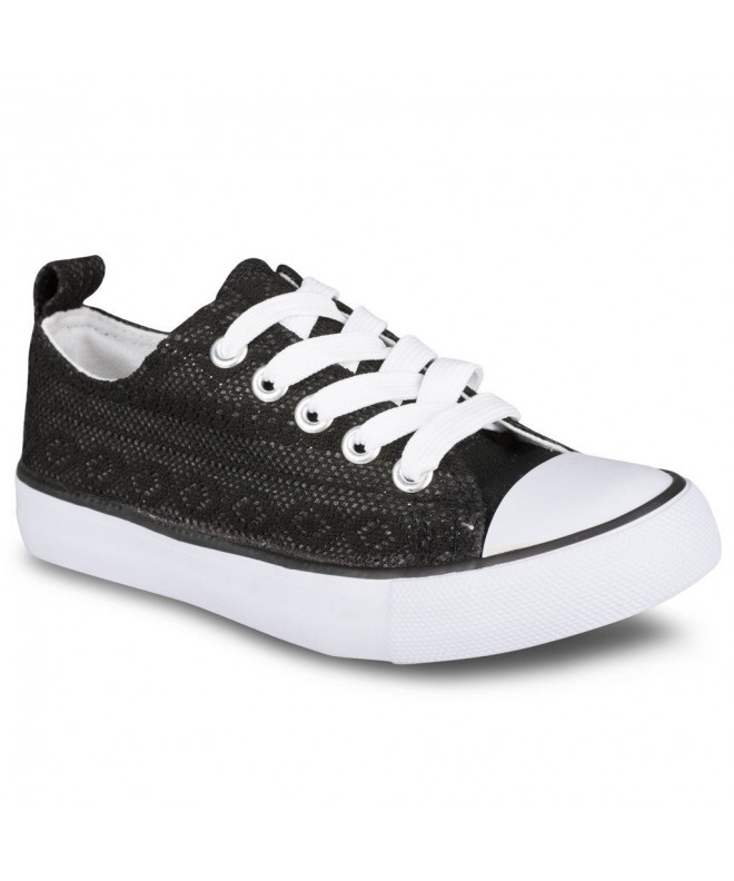 Twisted Girls Canvas Lo Top Sneaker