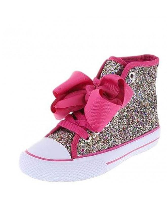 JoJo Girls Rainbow Glitter Sneaker