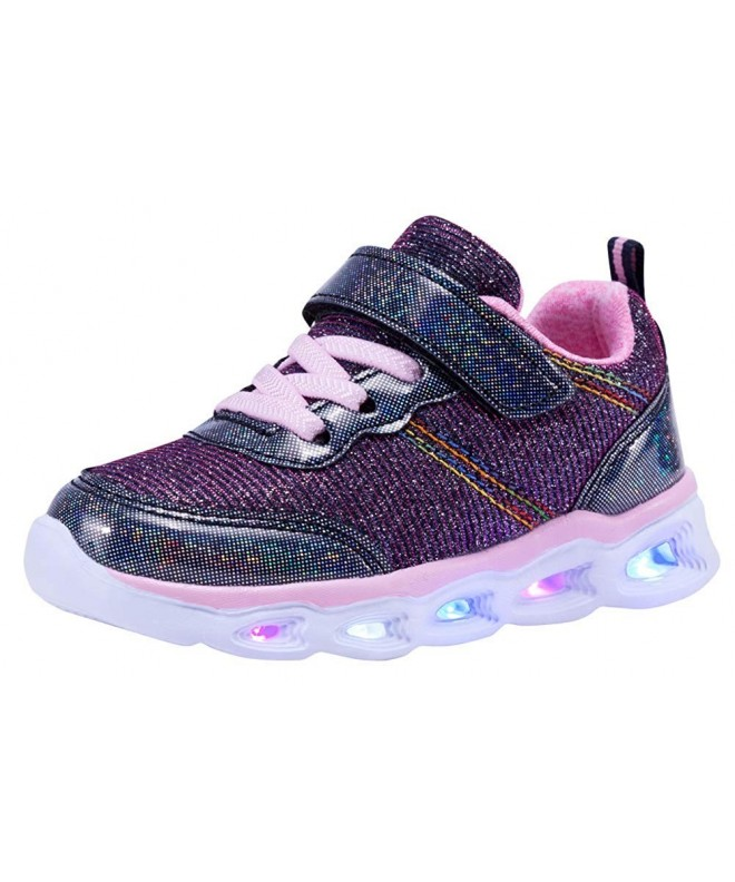 COODO Toddler Girls Sneakers Glitter