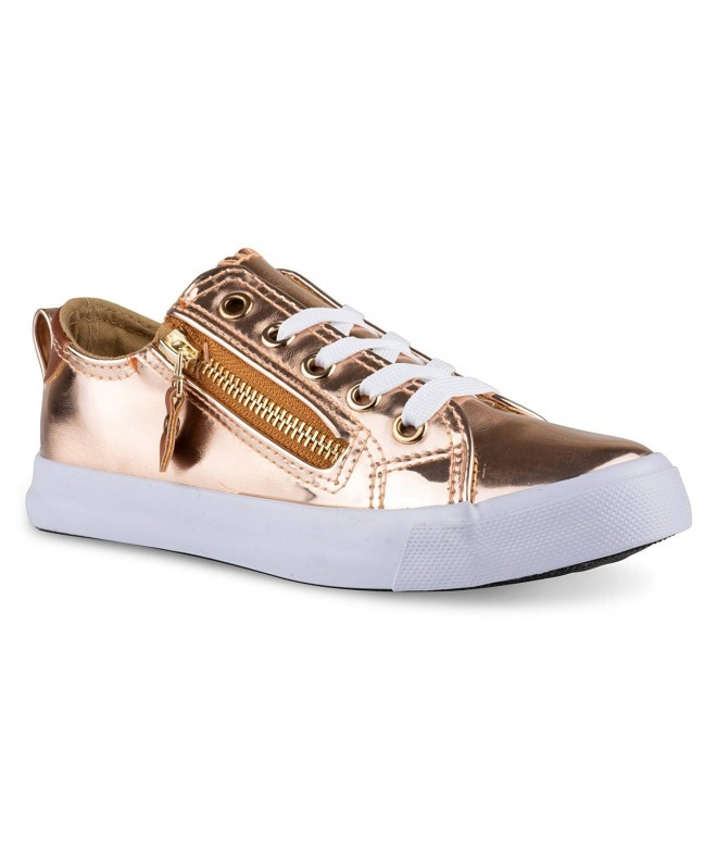 Twisted Girls Side Zipper Sneaker