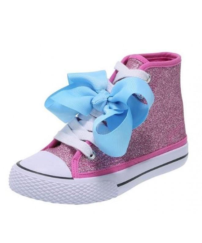 JoJo Sneaker Silver Glitter Sizes10