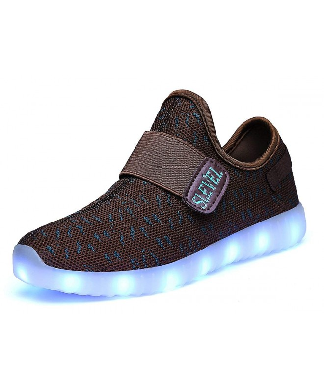 SLEVEL Breathable Light Flashing Sneakers