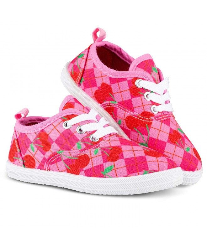 Chillipop Printed Canvas Sneakers Toddlers