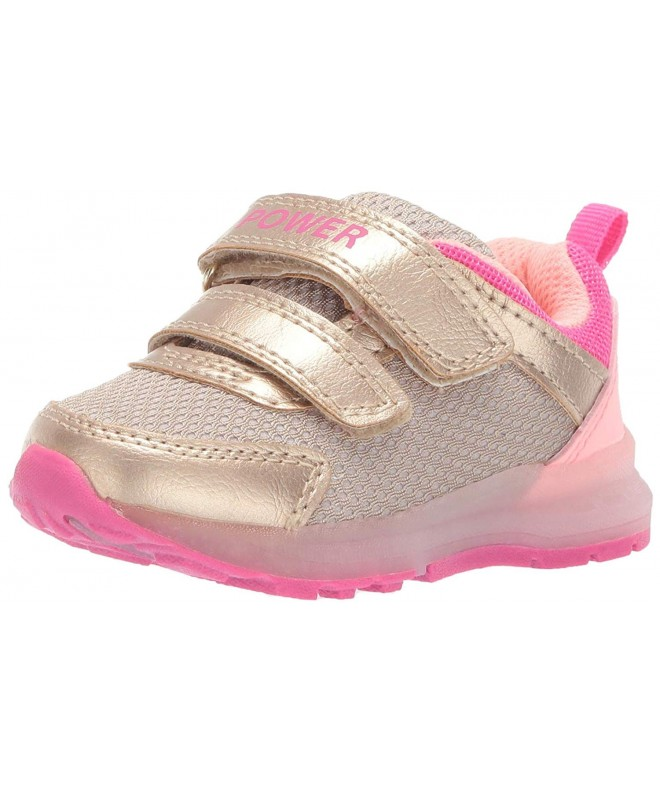 Carters Girls Metallic Light up Sneaker