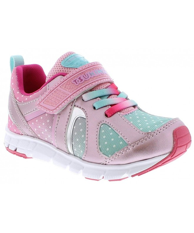 TSUKIHOSHI Girls Rainbow Little Sneaker