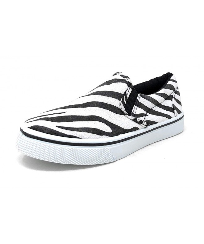 Pink Label Girls Striped Sneaker