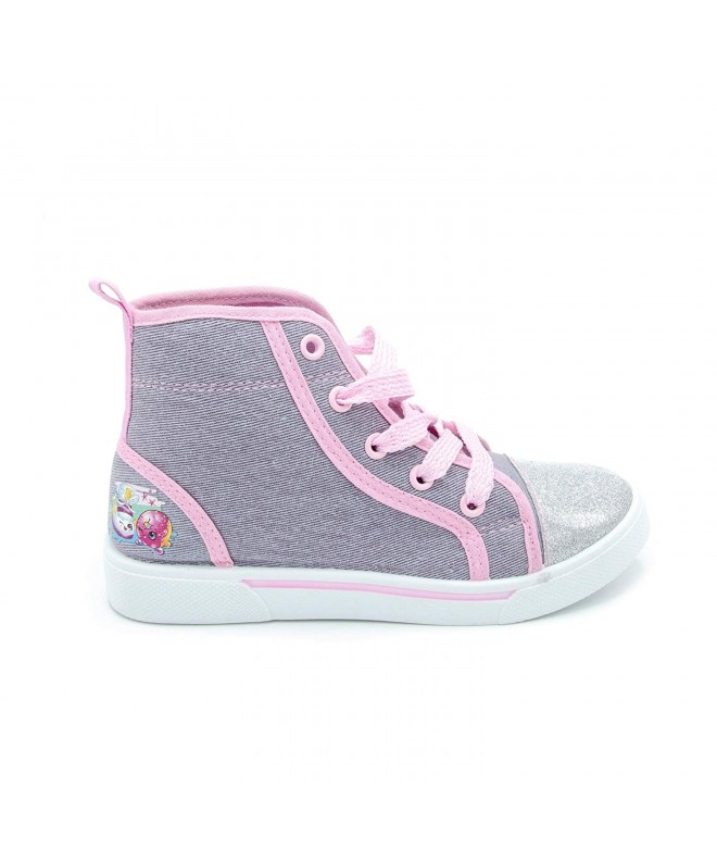 Shopkins Girls High Top Canvas Sneakers