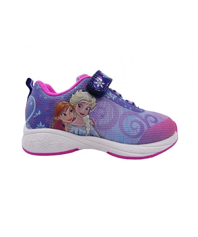 Frozen Purple Sparkle Athletic Velcro